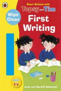 Start School with Topsy and Tim: Wipe Clean First Writing - 2826889775