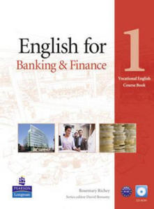 English for Banking & Finance Level 1 Coursebook and CD-Rom - 2827033826