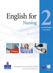 English for Nursing Level 2 Coursebook and CD-Rom Pack - 2848125721