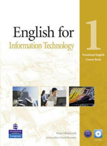 English for IT Level 1 Coursebook and CD-Rom Pack - 2826647404