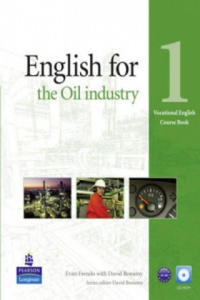 English for the Oil Industry Level 1 Coursebook and Audio CD - 2844865994