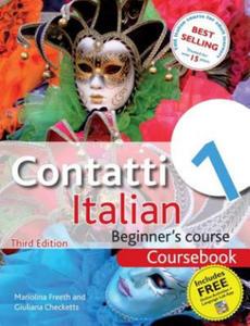 Contatti 1 Italian Beginner's Course: Coursebook - 2853160050