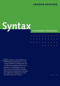 Andrew Radford - Syntax - 2854255885