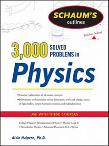 Schaums 3000 Solved Problems in Physics - 2854276152