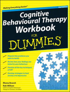 Cognitive Behavioural Therapy Workbook for Dummies 2E - 2854255985