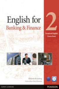 English for Banking & Finance Level 2 Coursebook and CD-ROM - 2869392529