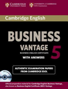 Cambridge English Business 5 Vantage Self-study Pack (Student's Book with Answers and Audio CDs (2)) - 2826623180