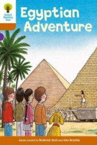 Oxford Reading Tree: Level 8: More Stories: Egyptian Adventure - 2873910265