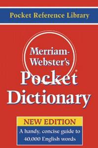 Merriam Webster's Pocket Dictionary - 2834155759