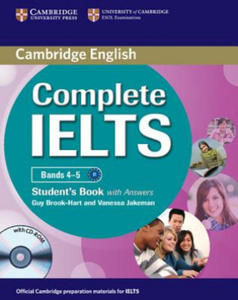 Complete IELTS Bands 4-5 Student's Pack (Student's Book with Answers with CD-ROM and Class Audio CDs (2)) - 2826873425