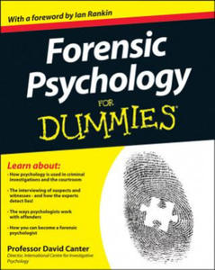 Forensic Psychology For Dummies - 2843502635