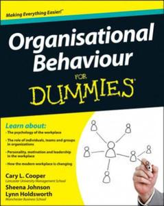 Organizational Behavior For Dummies - 2854186635