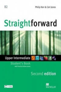 Straightforward - Student Book - Upper Intermediate with Practice Online Access - 2904097895