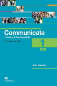 Communicate 1 Course Book Pack with DVD International Version - 2903334140