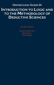 Introduction to Logic and to the Methodology of Deductive Sciences - 2843285613