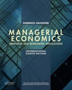 Managerial Economics in a Global Economy - 2854350193