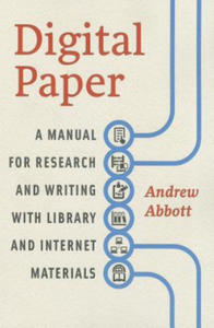 Digital Paper - A Manual for Research and Writing with Library and Internet Materials - 2854243999