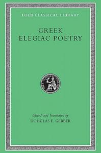 Greek Elegiac Poetry - 2847389078