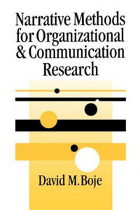 Narrative Methods for Organizational and Communication Research - 2854322213