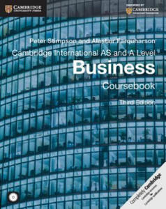 Cambridge International AS and A Level Business Coursebook with CD-ROM - 2869392165