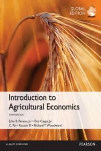 Introduction to Agricultural Economics, Global Edition - 2854350347