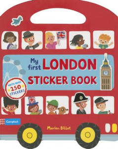 My First London Sticker Book - 2826726387
