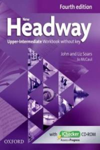 New Headway: Upper-Intermediate B2: Workbook + iChecker with - 2862625548