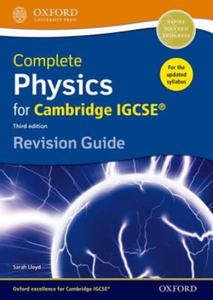 Complete Physics for Cambridge IGCSE (R) Revision Guide - 2869484631