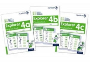 Numicon: Number, Pattern and Calculating 4 Explorer Progress Books ABC (Mixed pack) - 2858189771