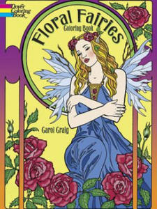 Floral Fairies Coloring Book - 2826619436