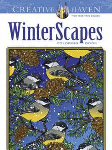 Creative Haven WinterScapes Coloring Book - 2826622381