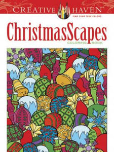 Creative Haven ChristmasScapes Coloring Book - 2826702921