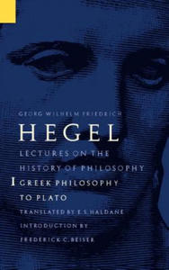 Lectures on the History of Philosophy, Volume 1 - 2854332679