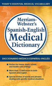 Merriam-Webster's Spanish-English Medical Dictionary - 2854198492
