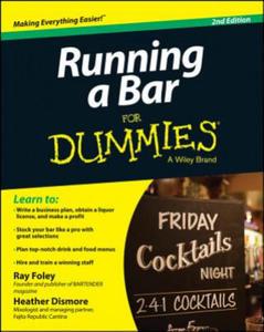Running a Bar for Dummies, 2nd Edition - 2826625512