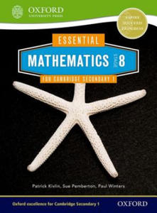 Essential Mathematics for Cambridge Secondary 1 Stage 8 Pupil Book - 2874285978
