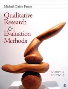 Qualitative Research & Evaluation Methods - 2845908285