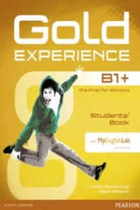 Gold Experience B1+ Students' Book with DVD-Rom and Mylab Pack - 2845289629