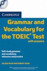 Cambridge Grammar and Vocabulary for the TOEIC Test, w. 2 Audio-CDs - 2845287091