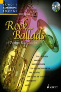 Rock Ballads, Alt-Saxophon, m. Audio-CD - 2827068324