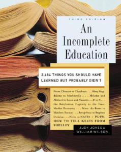 Incomplete Education - 2826653812