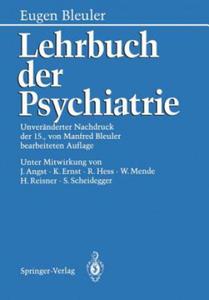 Lehrbuch der Psychiatrie - 2826698145