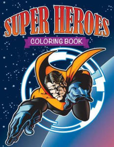 Super Heroes Coloring Book - 2848953068
