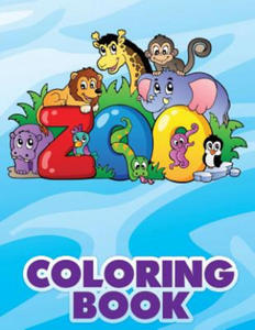 Zoo Coloring Book - 2839140572