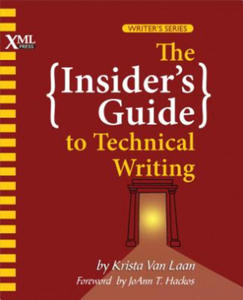 Insider's Guide to Technical Writing - 2857570934