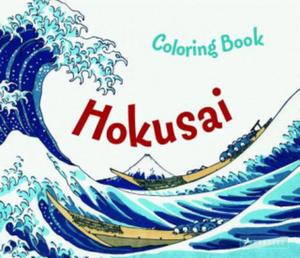 Hokusai Colouring Book - 2869403508