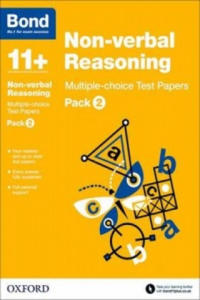 Bond 11+: Non Verbal Reasoning: Multiple Choice Test Papers - 2854351996