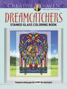 Creative Haven Dreamcatchers Stained Glass Coloring Book - 2826892280