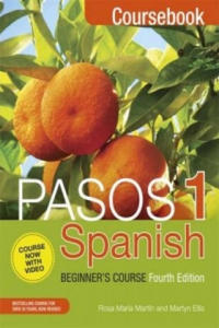Pasos 1 (Fourth Edition): Spanish Beginner's Course - 2854352279