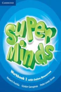 Super Minds Level 1 Workbook with Online Resources - 2858839781